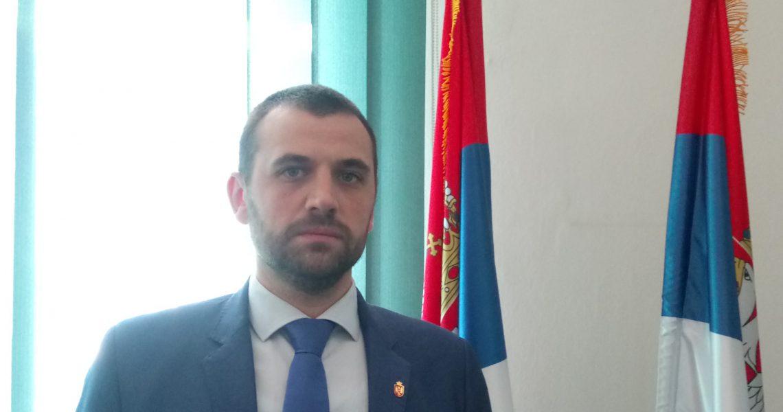 Милан Аранђеловић - начелник Топличког Управног округа