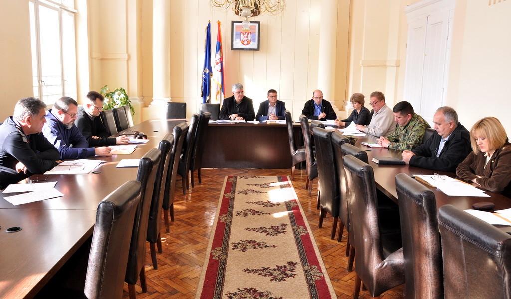 Одржан састанак Окружног штаба за ванредне ситуације